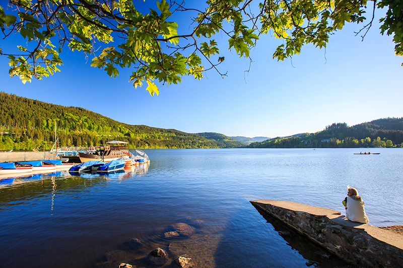Lake Titisee is the largest natural lake in the region and a lovely spot to relax on the shore or head out on the water in a pedalo or a sailing boat.