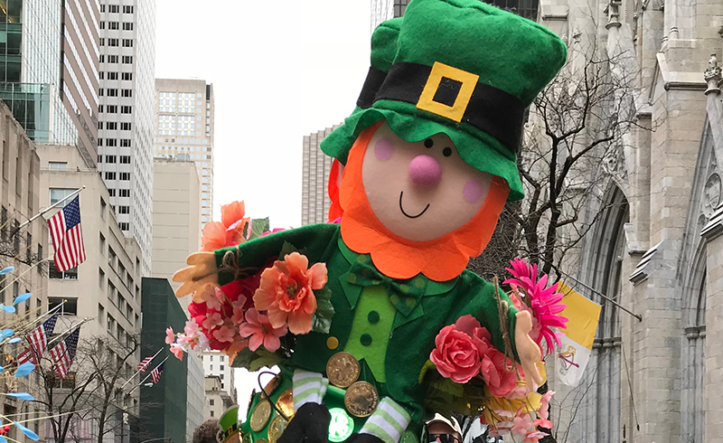 The leprechaun is another Irish folklore favourite and children in Ireland have him to thank for the tradition of receiving a bag of chocolate coins on St Patrick's Day.