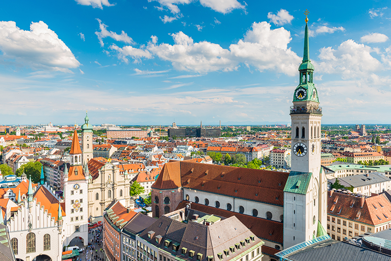 Munich is home to endless pints of frothy beers, ancient arcitecture, and Lederhosen – it is a city where modern life and traditional culture merge into one.