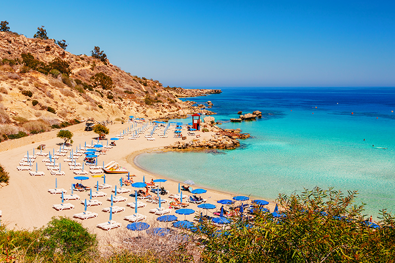 Nissi Beach is arguably one of the world's best beaches – 500 metres of glorious white sands that the word paradise was coined for.