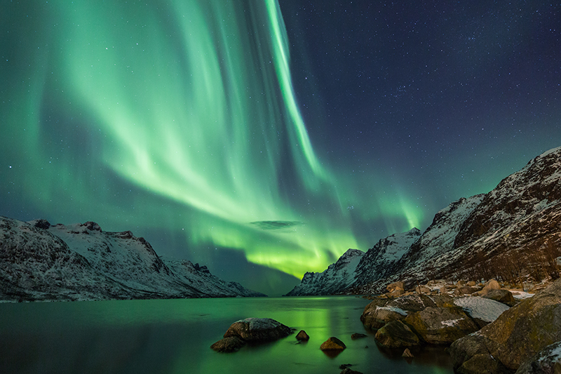 You can't visit this part of the world and not try and get a glimpse of the spectacular Northern Lights. The dancing lights can be seen on over 200 nights per year in Lapland, so if you have a clear night, you might see them.