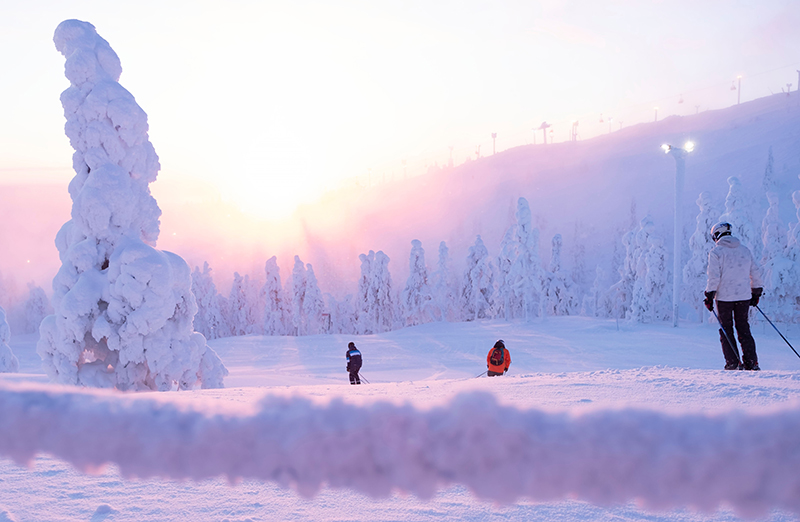 Lapland is one of the best places for skiing. Ruka, with its beautiful scenery, fantastic runs and a long ski season, should be on every ski enthusiast's list.