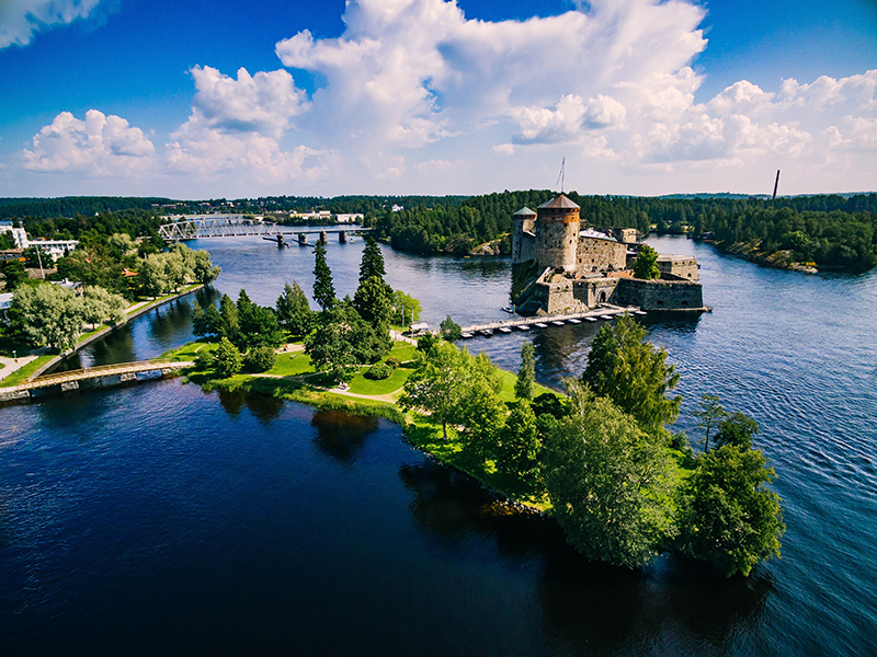 Savonlinna is made up of several islands and is a beautiful a romantic destination. Look out for the internationally-renowned Savonlinna Summer Opera Festival which attracts world-class performers.