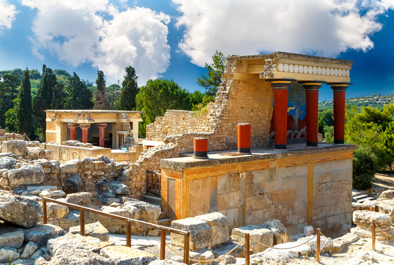 Crete's arguably most famous - and important - historical attraction is the Palace of Knossos.