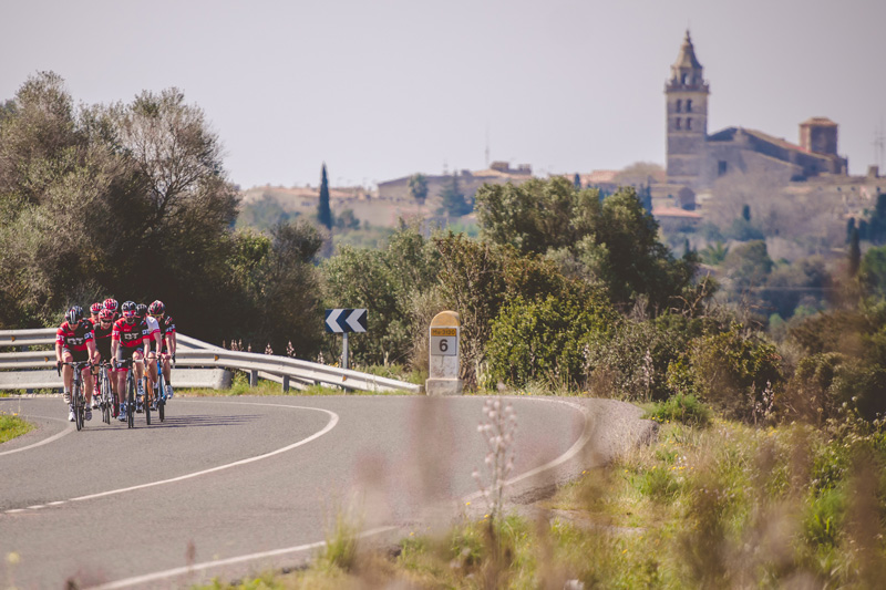 Mallorca is one of the places the professional cyclists train for their big competitions. Not far from the UK, it has mountainous and flat terrains and the perfect weather for cycling. There's also plenty to do if you want to take some time away from the bike.