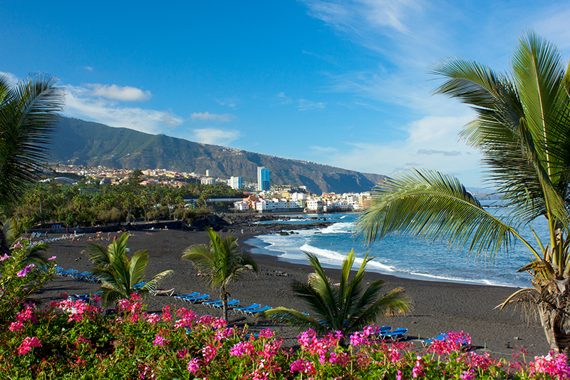 Tenerife makes for a fabulous family holiday destination, with its year-round sunshine and plenty of activities to keep everyone entertained. Puerto de la Cruz in the north is known for its striking dark volcanic sand beaches, which are well-worth a visit.
