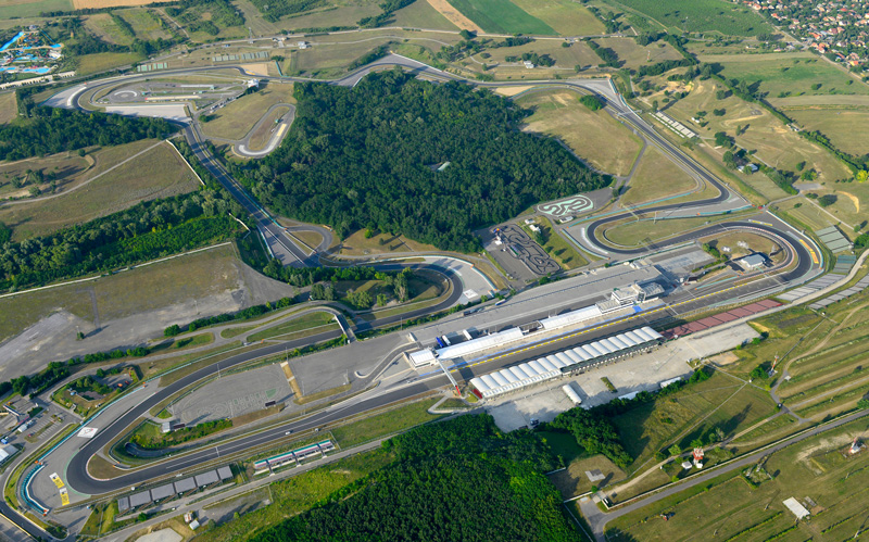 The Hungaroring is a must-visit racing circuit for any F1 fan, and was the main reason for the couple's trip to Budapest.