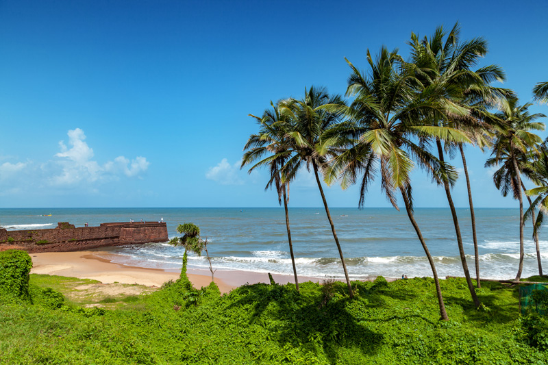Goa, in India, is renowned for being the place to head to for a fabulous chill-out holiday - you would struggle to tear yourself away from those famed beaches.