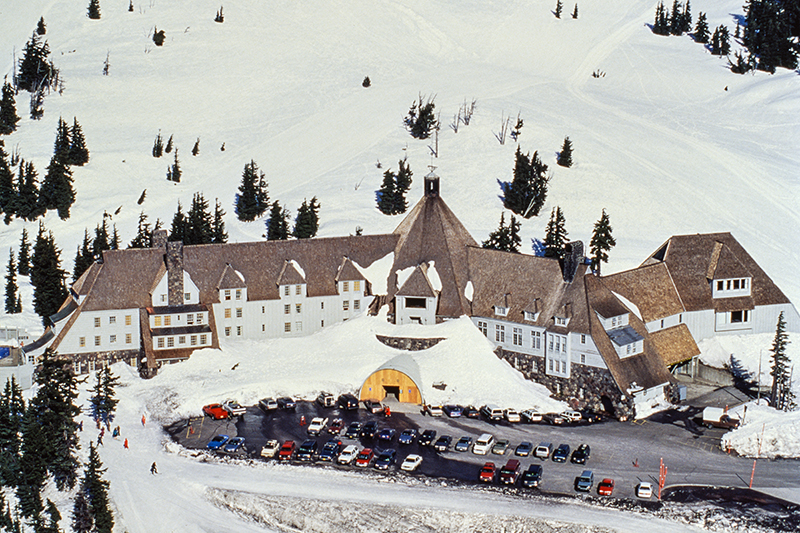 If you enjoy skiing, this is a great location to hit the slopes. Why not tie in a visit to the Timberline Lodge in Oregon, which was turned into the sinister Overlook Hotel in The Shining and is now a tourist attraction for many fans of the thriller.