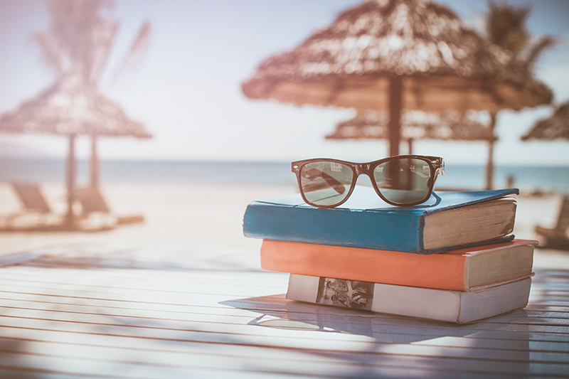 If you are planning on doing nothing more strenuous than flicking through the pages of a book, or three, while on holiday, take some inspiration from the recommendations in this blog.
