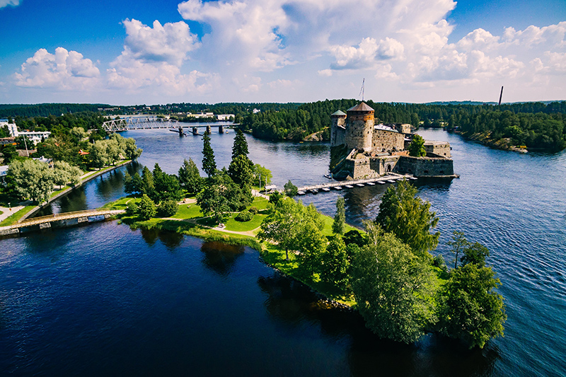 Savonlinna is a beautiful and lively city. The varied nature of the area is characteristic of the beauty and grace of Finland's Lakeland.