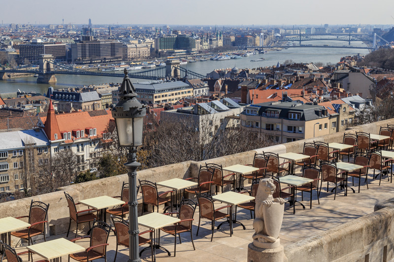Having a bite to eat al fresco while enjoying one of the most spectacular views over the River Danube as we tucked into some tasty traditional Hungarian cuisine was a real highlight of our stay in Budapest.