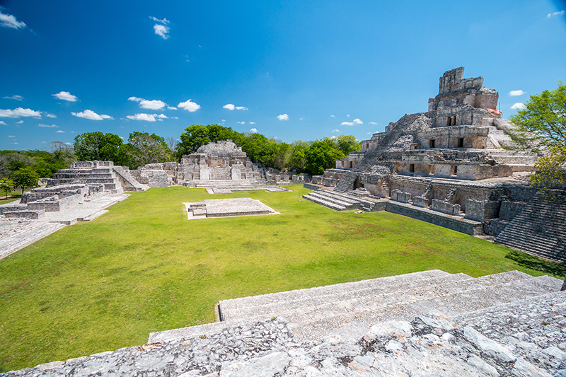 Mexico has some stunning beach locations, but it is also steeped in history, so why not visit one of the Mayan ruins?