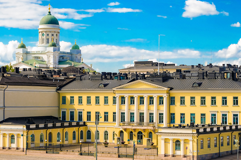 Close to the Market Square is President's Palace, which is a beautiful building. Stop by to watch the guards parading outside.