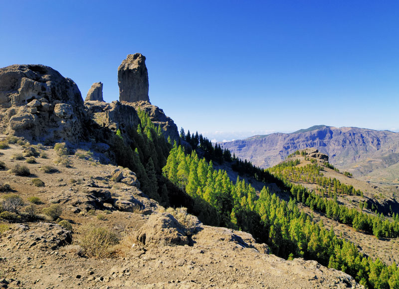 Gran Canaria is a great place to put on your hiking boots and head up a mountain. A hike to the UNESCO-protected Roque Nublo comes highly recommended.