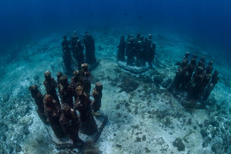 Book a tour to the Cancùn Underwater Museum, to experience this extraordinary underwater adventure. A trip not to be missed when visiting Cancùn.