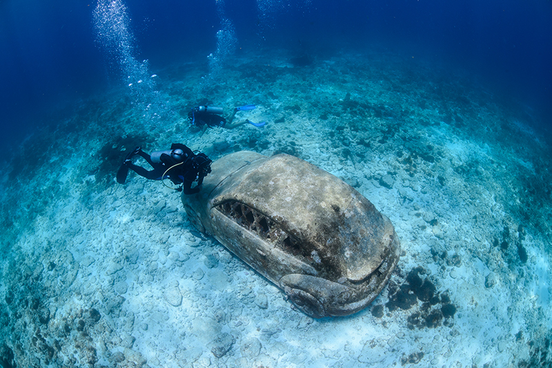 The Cancún Underwater Museum is home to over 500 sculptures sitting on the ocean floor, if scuba diving isn't for you then take a trip on a glass-bottomed boat, you will be amazed by what you see!