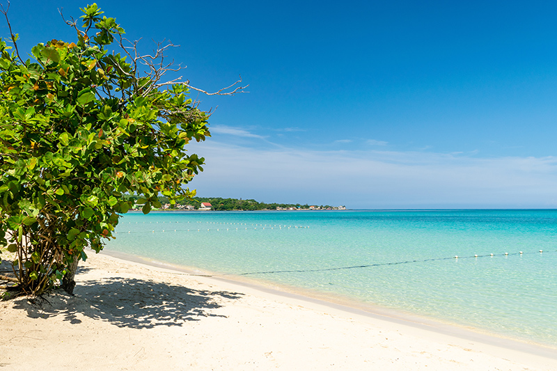 The iconic Seven Mile Beach in Negril is perhaps the best example of an ideal tropical setting. As the name suggests, this beach is vast and has plenty of activities and attractions that are sure to delight.