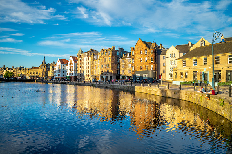 Visit the independent shops, close to the Water of Leith. Take a stroll along the river to take in the beautiful surroundings, before returning to the city centre and all the festival has to offer.