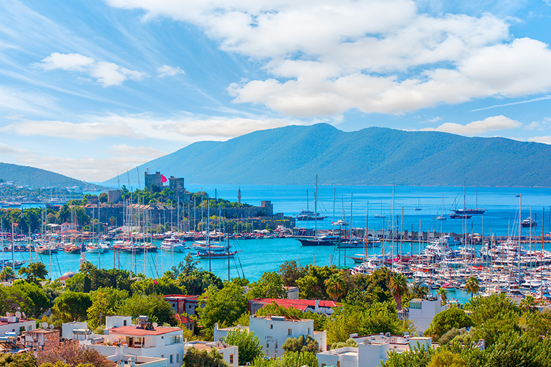 Bodrum Castle dates back to the Knights of St John, and has long been a significant landmark in this country, which is a veritable showcase of fascinating antiquities.