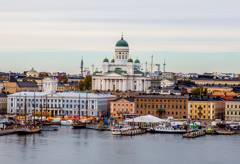 Helsinki, the capital of Finland, is a vibrant seaside city of beautiful islands and great green parks, which make for a great day out after you've enjoyed the Flow Festival.