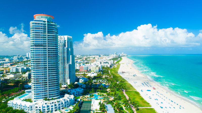 Miami is the perfect destination for families and couples. With year-round sunshine, beautiful beaches and plenty of opportunities to shup 'til you drop, it's a good thing Norwegian has added some additional flight routes here.