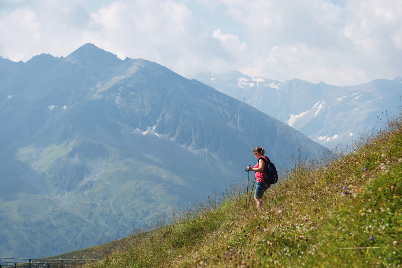 Enjoy breathing in the fresh mountain air from Bad Gastein's 372 miles of hiking trails, and take in the incredible panoramic views across the countryside.