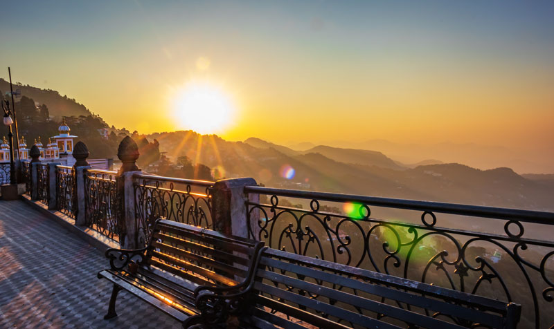 Mussoorie, the pretty hill station is known for it's pleasant weather and nostalgic old-world charm, with its luxurious comforts, colonial attractions and beautiful views of Himalayan peaks.
