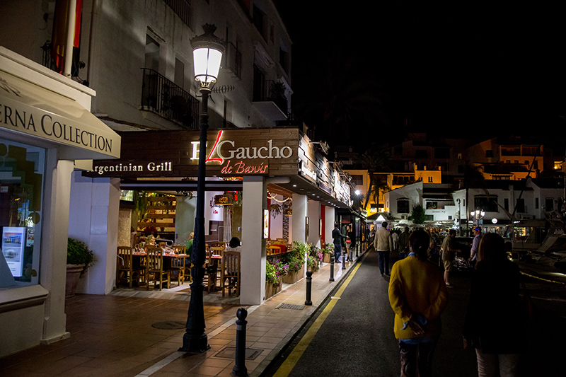 Live the high life and check out some of the boutique designer shops in Puerto Banús.