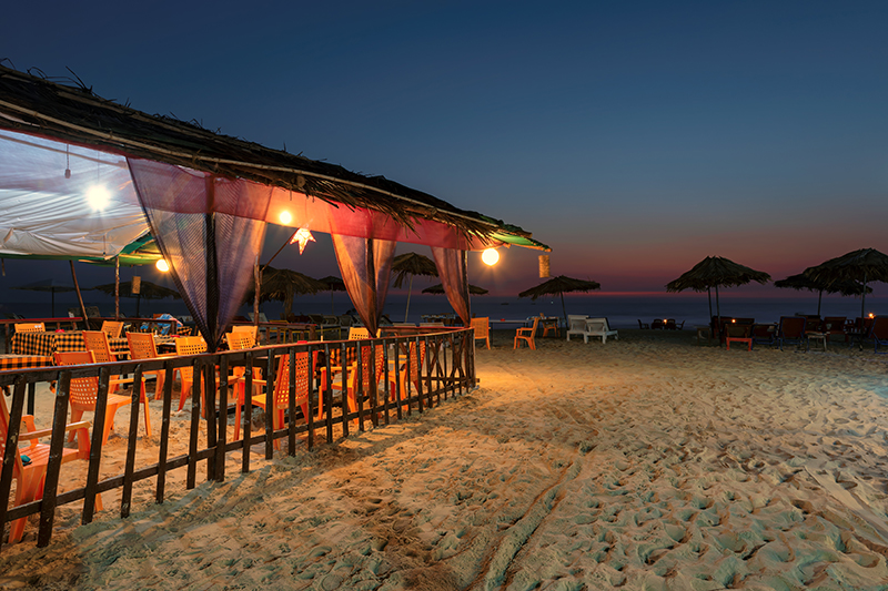 Goa's beaches are famed for their sunset parties, whether you take to the sands for sundowner cocktails or partying, you are sure to enjoy a night to remember.