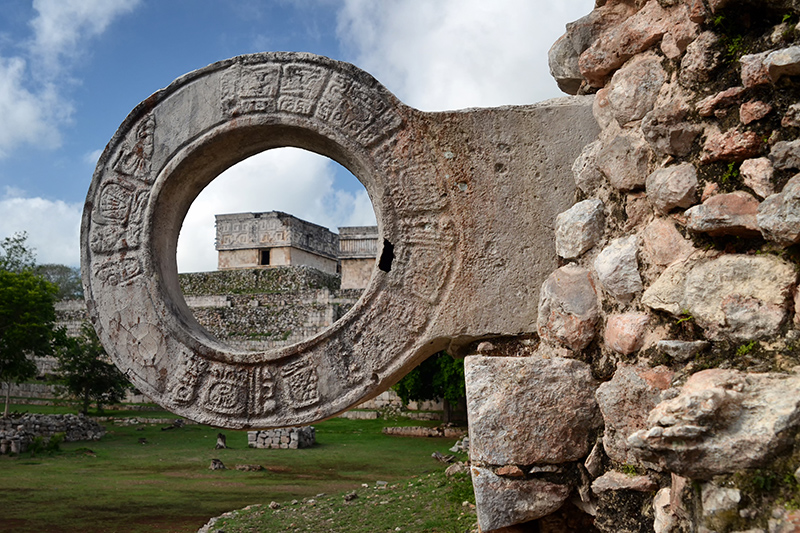 The Yucatán Peninsula is full of history, including a large number of UNESCO World Heritage sites, such as the Mayan ruin of Chichén Itzá.