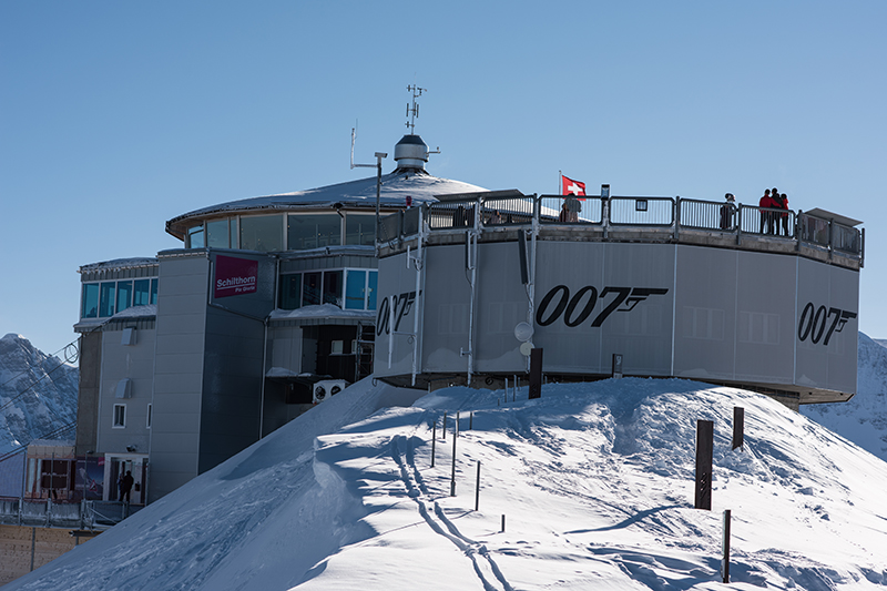 Or perhaps you fancy a revolving restaurant set in the mountains - on the summit of the Schilthorn in Switzerland. Featured in the 1969 James Bond film, On Her Majesty's Secret Service, Piz Gloria offers panoramic views of the Bernese Alps in Switzerland.