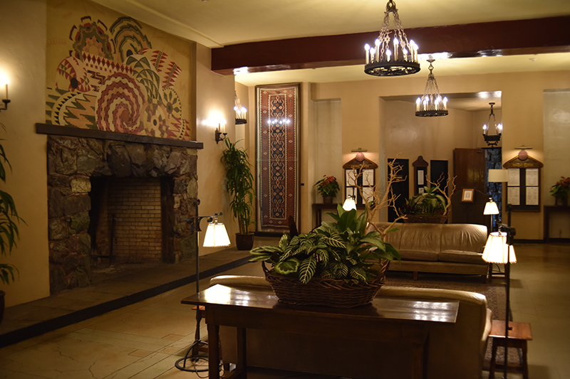 The beautiful Ahwahnee Hotel in the Yosemite Valley was the inspiration for the interior shots used in The Shining.