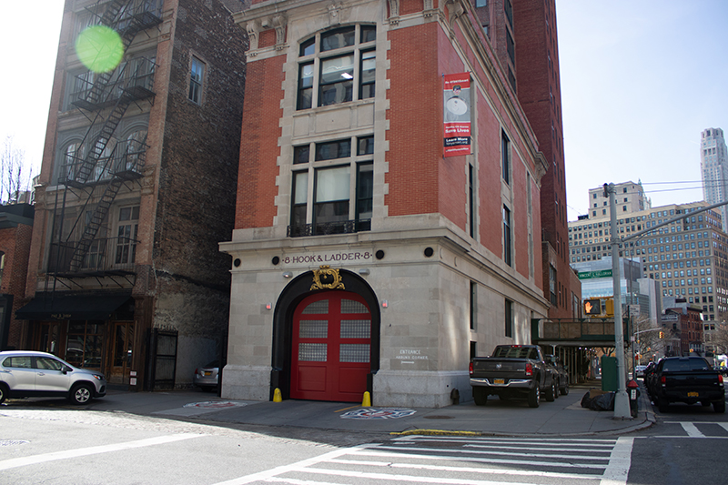 Take yourself back to the location of the 1980's supernatural comedy film - Ghostbusters. This is still a working fire station to this day.