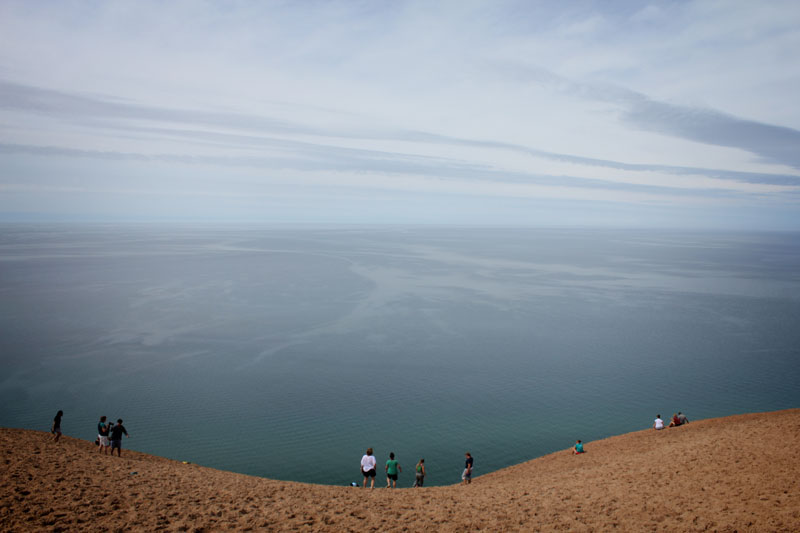 Rising to heights of 400 foot high and stretching along the coast for 35 miles, it is hard to miss Sleeping Bear Dunes National Lakeshore, just outside Glen Arbor in Michigan. These are sand dunes like you will never have experienced before.