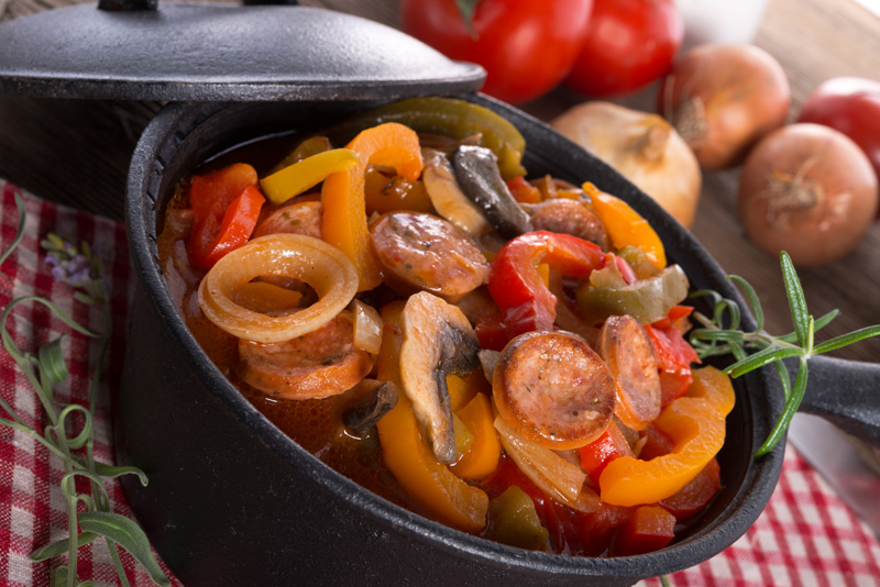 A holiday to Hungary wouldn't be complete without tucking in to one of their famous stews.
