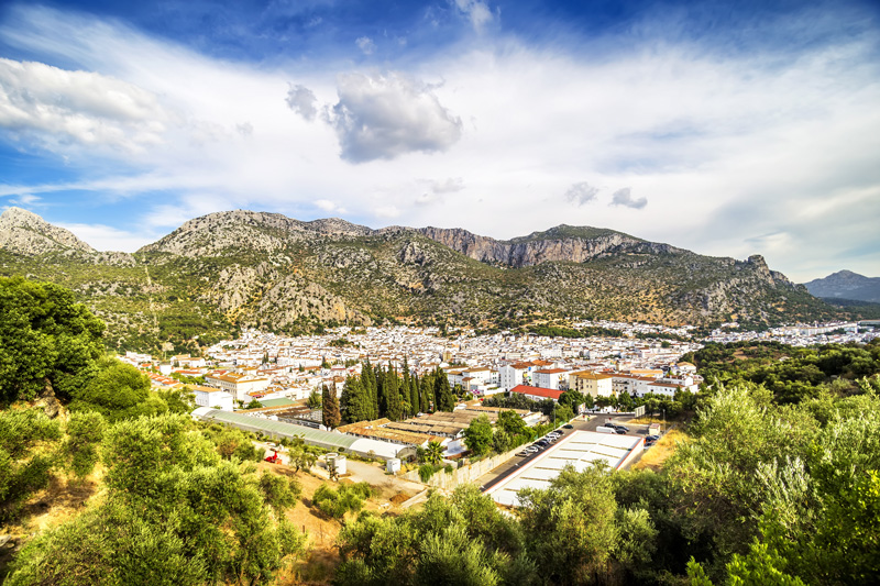 Ubrique is a large, busy town, known for leather-making since medieval times, and an interesting stopover before driving north into Sierra de Grazalema Natural Park.