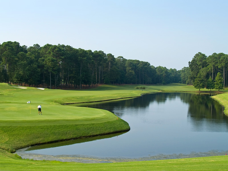 With more than 100 golf courses to choose from, there's no better place to perfect your swing than at Myrtle Beach.