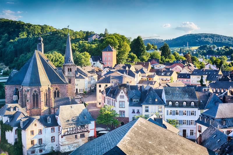 Germany is a land of surprises, with exotic landscapes to be enjoyed during the hot summers, as well as the frosted sparkle of its famed Christmas markets and ski resorts.