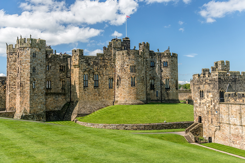For all the Harry Potter fans out there, there are numerous historic sites in England where different parts of the films were shot, from Northumberland to Wiltshire. Pictured above is Alnwick Castle in Northumberland where many exterior shots were filmed.