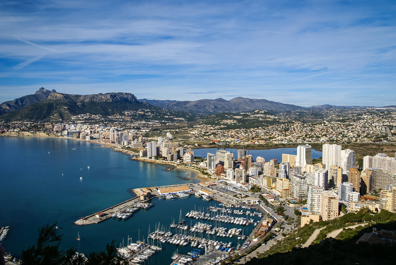 Calpe Harbour is a good spot to stop for a meal - traditional restaurants mix local dishes and wines for a memorable meal.