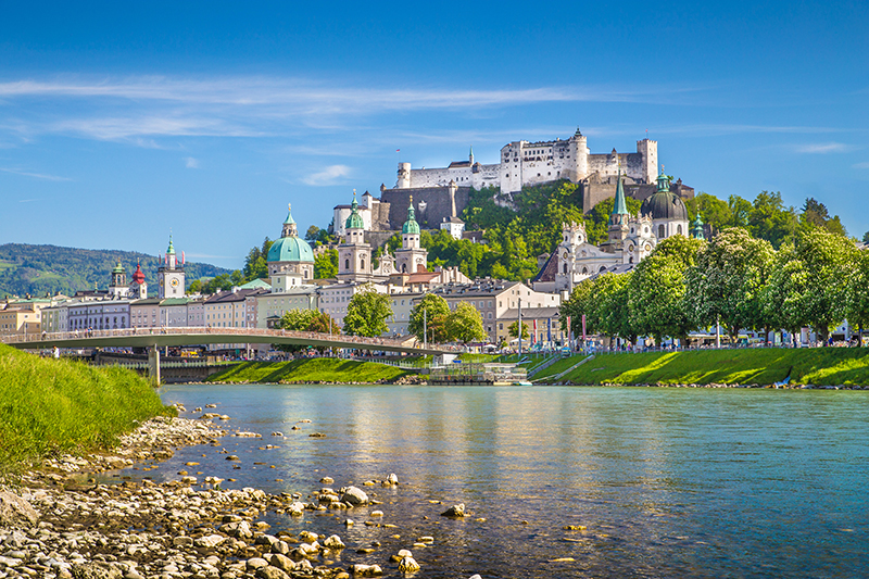 Everyone has heard of the famous musical - The Sound of Music. Why not take a visit to the beautiful location in Salzburg and join one of the tours.