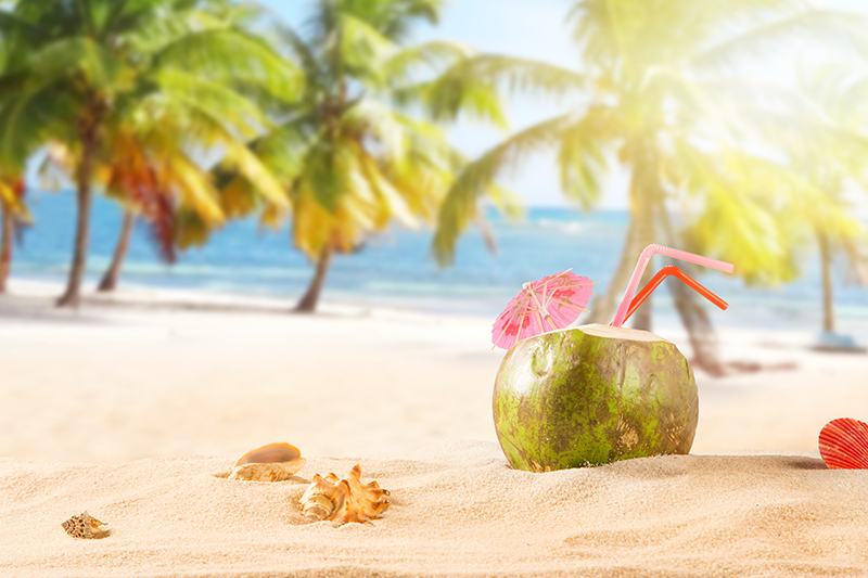 Jamaica's beautiful beaches are made for sitting back with a long, cool, cocktail and relaxing.