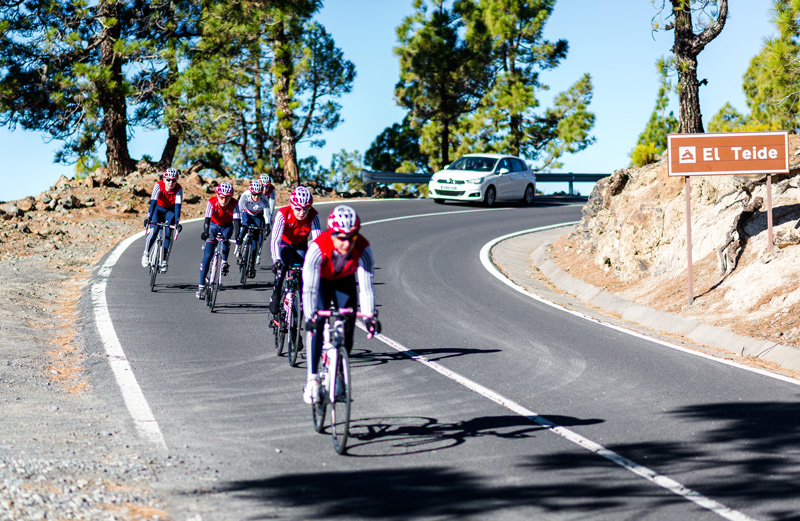 With Mount Teide, Tenerife is a well-known training destination for cyclists and it also happens to be a fantastic holiday destination. Split your time between cycling and enjoying Tenerife's beaches. It will be the perfect getaway!