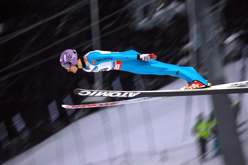 Who doesn't enjoy watching the thrill of the ski jump?