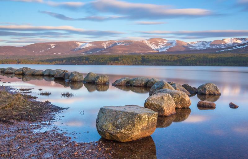 Loch Morlich is one of Scotland's prettiest lochs.