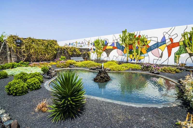 Lanzarote's most famous son, sculptor Cesár Manrique, created masterpieces all over the island that merge with the landscape.