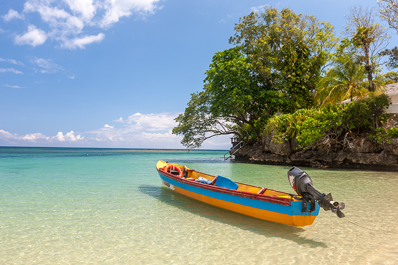 Paradise Beach is one of many idyllic sandy escapes in Jamaica that offer Caribbean holiday fun, both above and below the azure blue waters.