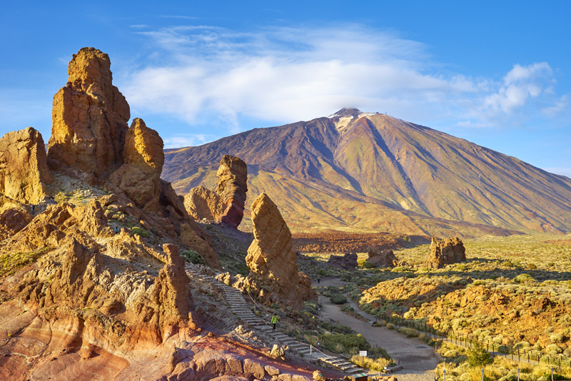 Take a cable car up to the peak of Mount Teide and take in the unrivaled views. Stunning.