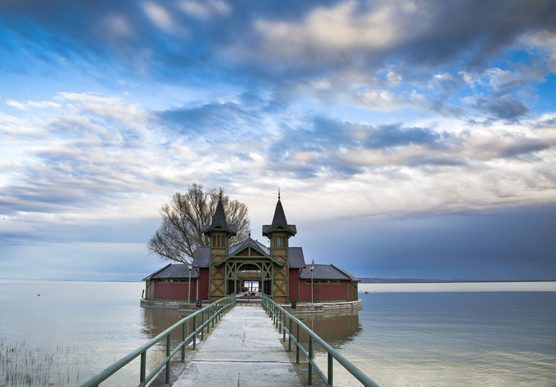 Lake Balaton is Europe's biggest lake and there's lots to do - it even has its own beach! Enjoy rowing, water sports and picnics on the shores in the summer days and in the winter, pop on a pair of ice skates and go skating!